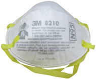 3M Dust Respirators 8210, N95, 20-Pack