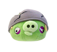 Angry Birds Plush 5-Inch Helmet Pig with Sound