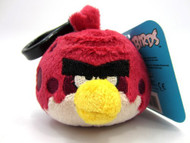 "Angry Birds Plush Backpack Clip 2"" - Big Brother"