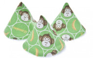 Beba Bean Pee-pee Teepee Baby Boy Lil Monkey in Cellophane Bag Boy Diaper Bag Weewee Change