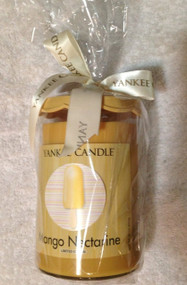 Yankee Candle MANGO NECTARINE 22 oz Large Cool Pops Limited Edition Tumbler Candle