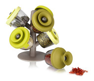 Vacu Vin 2843660 PopSome Herbs and Spices with 2 Tree Stands, Set of 6