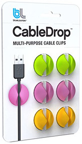 Bluelounge Design CableDrop Cable Management System - Bright