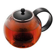 Bodum Assam Medium Tea Press with Plastic Filter, Black