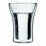 Bodum Assam Double Wall Glasses, 8-Ounce, Set of 2