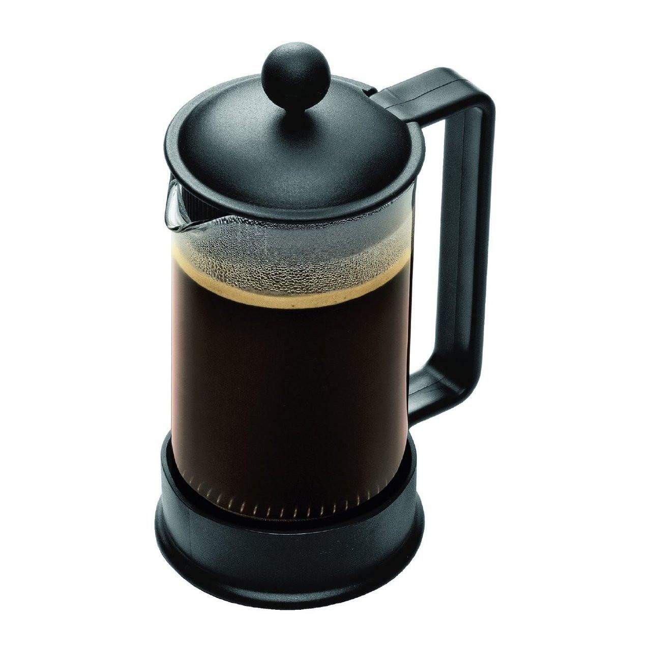 Bodum Brazil 3 Cup French Press Coffee Maker 12 Oz Black For Moms