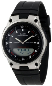 Casio Men's AW80-1AV Forester Ana-Digi Databank 10-Year Battery Watch