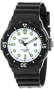 Casio Women's LRW200H-7E1VCF Dive Series Diver Look Analog Watch