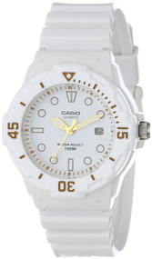 "Casio Women's LRW200H-7E2VCF ""Dive Series"" Diver-Look White Watch"