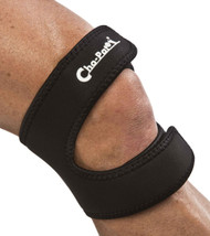 Cho-Pat Dual Action Knee Strap, Black, X-Large, 18 Inch-20 Inch