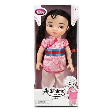 16/'/' Disney Animators/' Collection Mulan Doll