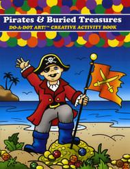 Do-A-Dot DADACT-379 Creative Activity Pirates and Buried Treasures Art Book