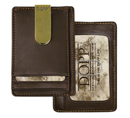 Dopp Regatta 88 Series Front Pocket Wallet, Brown
