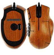 Skinomi® TechSkin - SK10671 Razer Naga - Light Wood Full Body Skin Protector / Front & Back Premium HD Clear Film / Ultra High Definition Invisible and Anti Bubble Crystal Shield with Free Lifetime Replacement Warranty - Retail Packaging