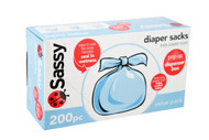Sassy Baby Disposable Diaper Sacks, 200-Count