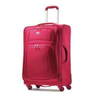 American Tourister Luggage Ilite Supreme 25 Inch Spinner Suitcase 48711-2779 Red