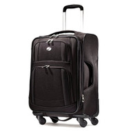 American Tourister Luggage Ilite Supreme 25 Inch Spinner Suitcase 48711-1041 Black