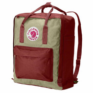 Fjallraven Kanken Daypack, Ox Red / Putty