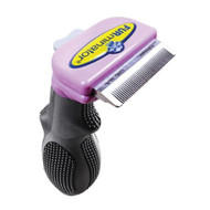FURminator deShedding Tool for Cats, Long Hair Small