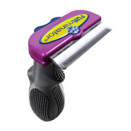 FURminator deShedding Tool for Cats Short Hair Large