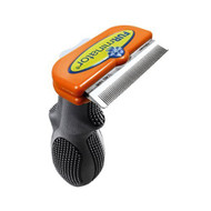 FURminator deShedding Tool for Dogs, Long Hair Medium