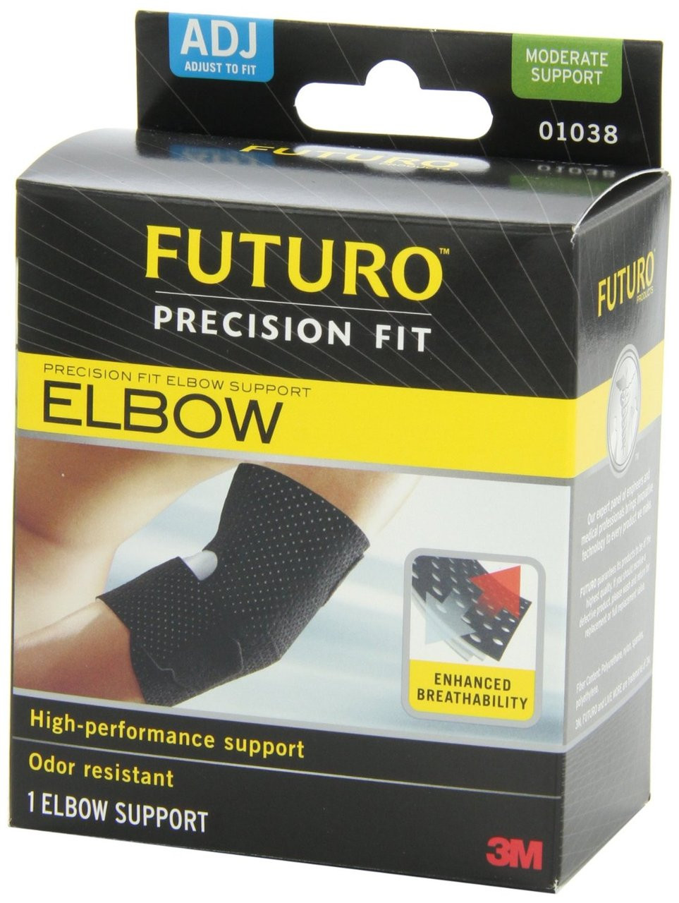 47ac8b9d65 ... Futuro Infinity Precision Fit Elbow Support, Adjustable. Image 1