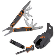 Gerber Knife 31-001047 Bear Grylls Ultimate Survival Pack with Multitool, Flashlight, and Fire Starter