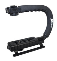 Opteka X-GRIP Professional Camera / Camcorder Action Stabilizing Handle - Black