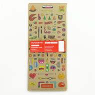 Goodbyn 3-Pack Chris Piascik Dishwasher-Safe Sticker Lunch Box Sets, Artist Edition