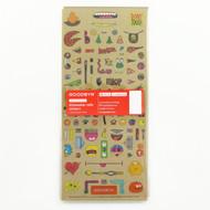 Goodbyn 3-Pack Chris Piascik Dishwasher-Safe Sticker Lunch Box Sets, Artist Edition