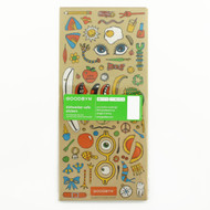 Goodbyn 2 Pack Original Dishwasher-Safe Sticker Lunch Box Sets
