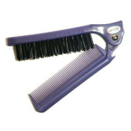 Goody Folding Brush/comb - Grey