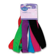 Goody Ouchless Comfort Fit headbands, 6 Count White