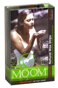Moom Express Wax Strips for Face & Bikini 20 Strips