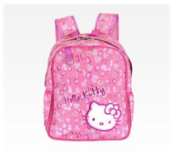 Hello Kitty Small Backpack: Pink Leopard