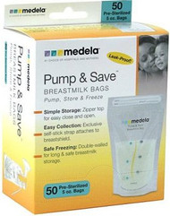 MEDELA PUMP & SAVE BREASTMILK BAGS 87234