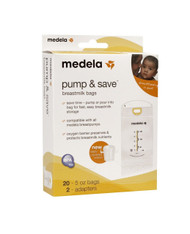 MEDELA PUMP & SAVE BREASTMILK BAGS 87233