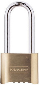Master Lock 175DLH Set-Your-Own Combination Lock, 2-1/4-Inch Shackle, 2-Inch Body
