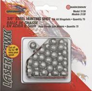 """Marksman 3/8"""" Steel Shot, 75 count"""