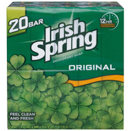 Irish Spring Deodorant Soap Original Scent - 3.75 oz. - 20 ct.
