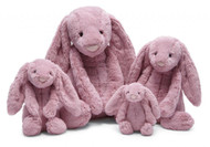 "Jellycat® Bashful Tulip Pink Bunny, Huge - 20"""