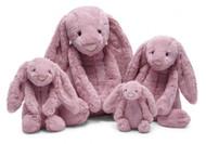 "Jellycat® Bashful Tulip Pink Bunny, Large - 14"""