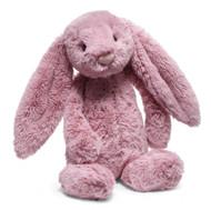 "Jellycat® Bashful Tulip Pink Bunny, Medium - 12"""