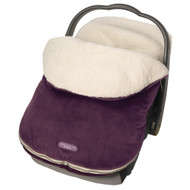JJ Cole Original Bundleme Bunting Bag, Eggplant, Infant