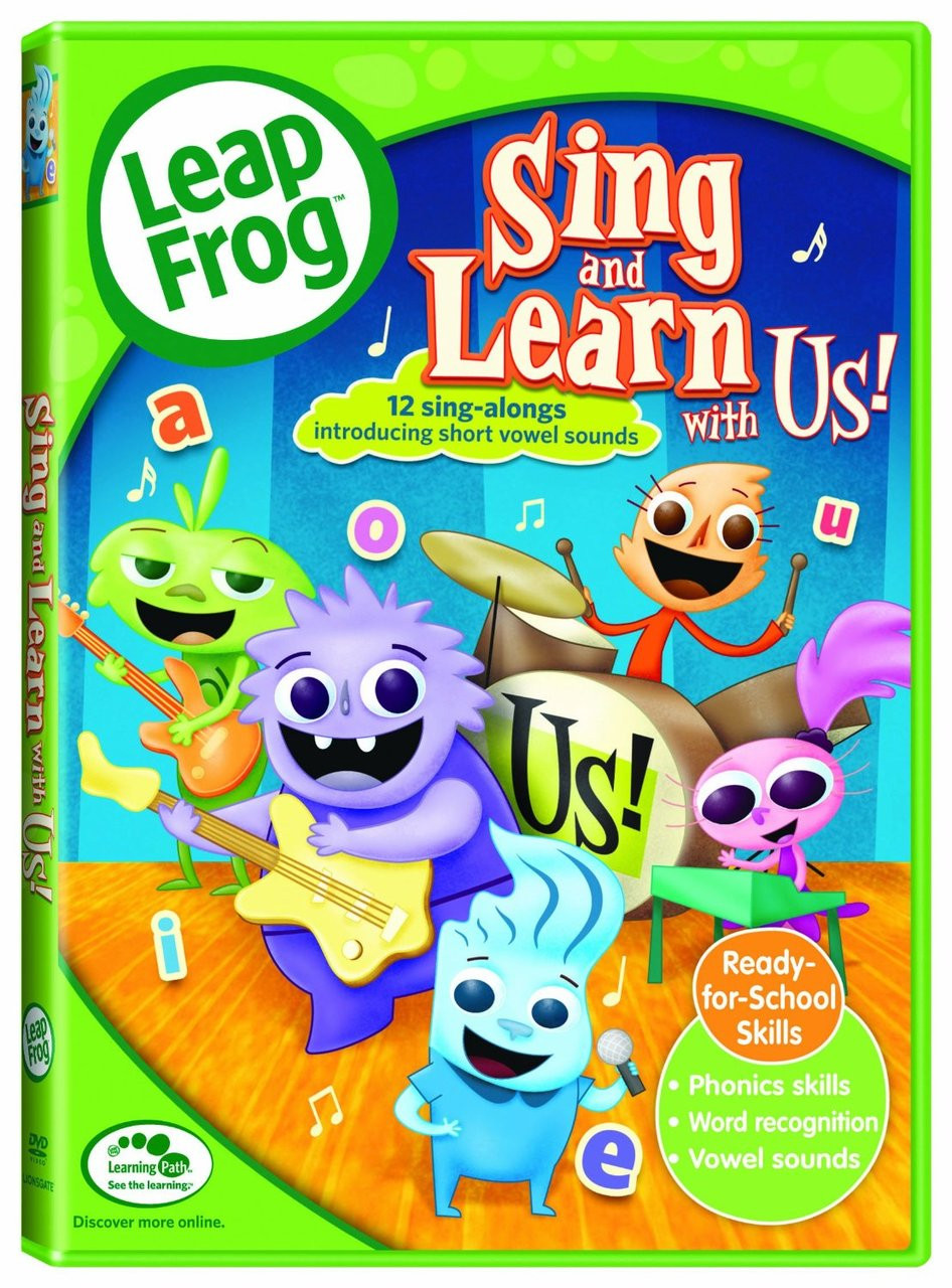 Leapfrog A Tad Of Christmas Cheer Dvd.Leapfrog Sing And Learn With Us