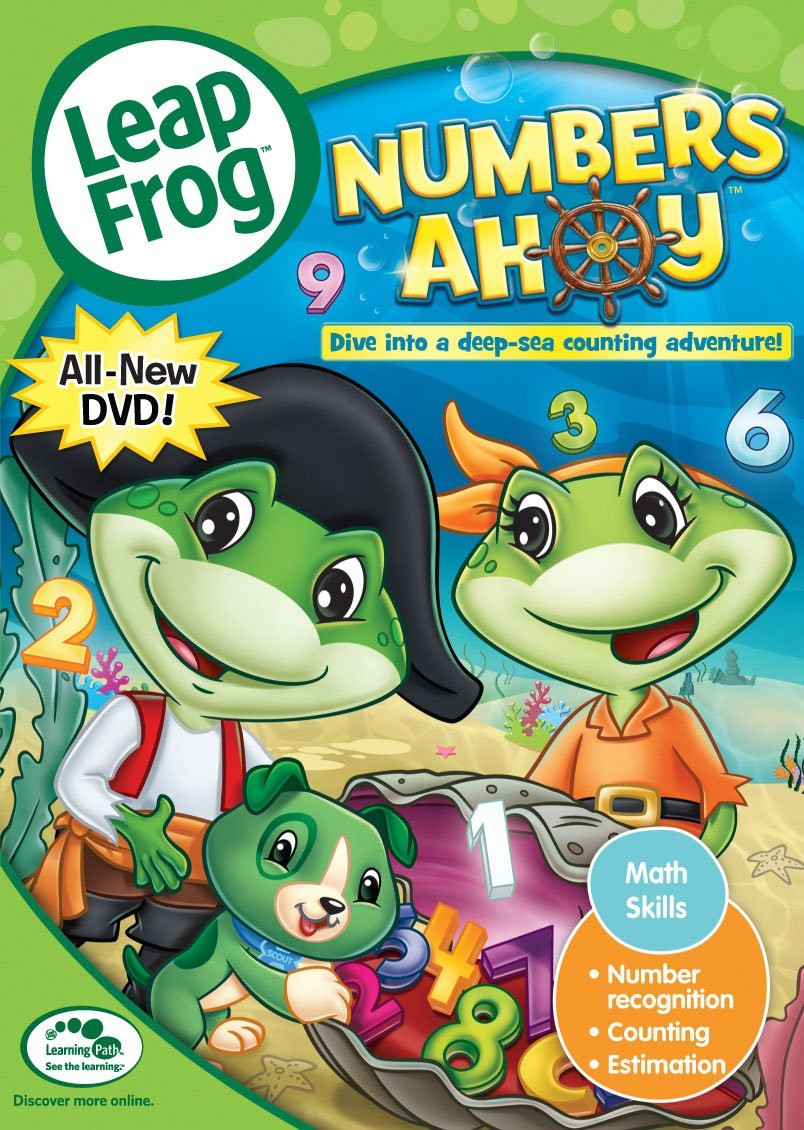 Leapfrog A Tad Of Christmas Cheer Dvd.Leapfrog Numbers Ahoy