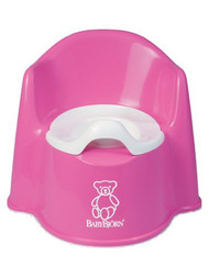 BABYBJORN Potty Chair, Pink