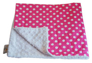 Baby Elephant Ears Blanket Large Pink Dot