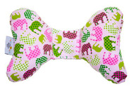 Baby Elephant Ears Head Support Pillow (Pink Elephant)