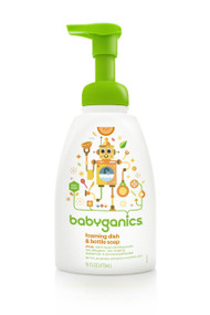 Babyganics Foaming Dish and Bottle Soap, Citrus, 16 oz
